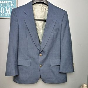 Christian Dior Blue Monsieur Men's Blazer 40S